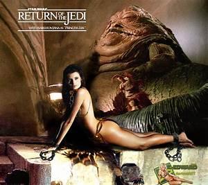 Isabeli Fontana|Princess Leia Slave|Jabba the Hutt by c ...