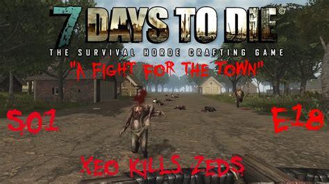 days zombies die town alpha