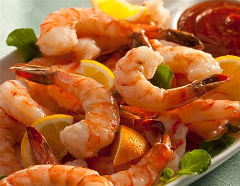 jumbo pre cooked shrimp cocktail  cocktail sauce