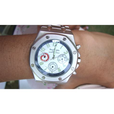 Paul Jardin Men's Quartz Watch Stainless Steel Water Resistant
