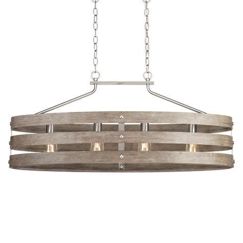 home depot chandeliers progress lighting gulliver 10 5 in 4 light brushed nickel