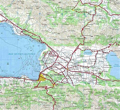 maps of port au prince