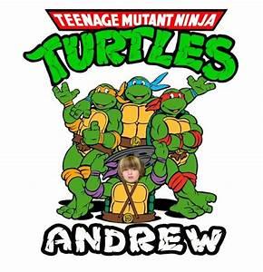 Custom Teenage Mutant Ninja Turtles Kids T Shirt