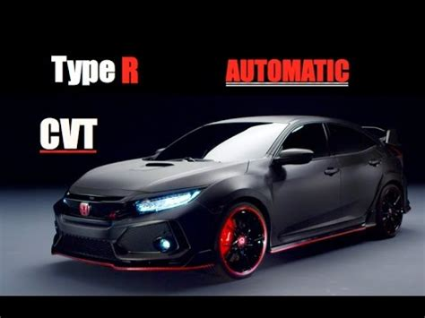 Honda Type R Automatic 2020 by 2018 Honda Civic Type R Automatic Honda Overview