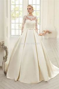 elegant simple long sleeve wedding dresses with lace 2015 With simple long sleeve wedding dresses
