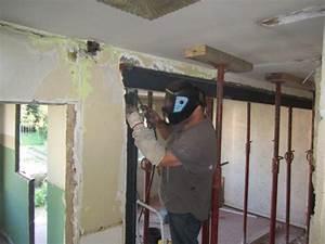 Faire Une Ouverture Dans Un Mur Porteur En Parpaing : pose d 39 un ipn pour ouverture d 39 un mur porteur ~ Melissatoandfro.com Idées de Décoration