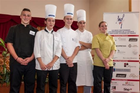 concours de cuisine pour apprentis 5 jeunes récompensés pour le concours maf option cuisine froide