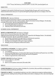 how to write a paralegal resume including samples With free paralegal resume templates