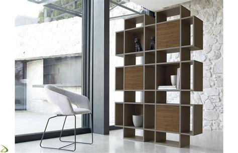 librerie arredo design mobile libreria con ante in legno plaza arredo design