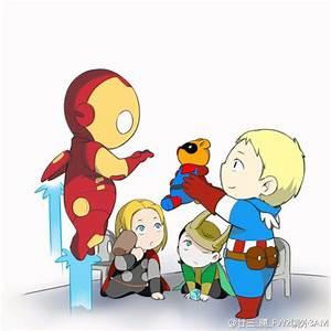 Avengers Cartoon Baby   www.pixshark.com - Images ...