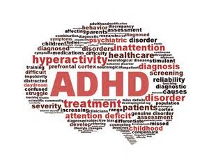 in utero and through lactation exhibited several features of ADHD ... ADHD