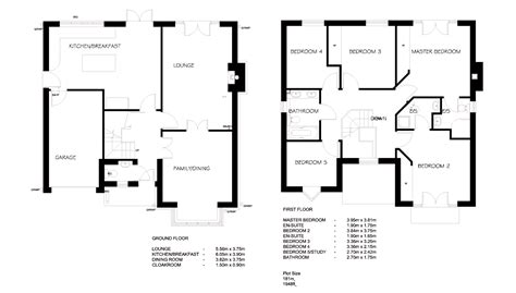 how to floor plans simple blueprints with measurements and superb simple