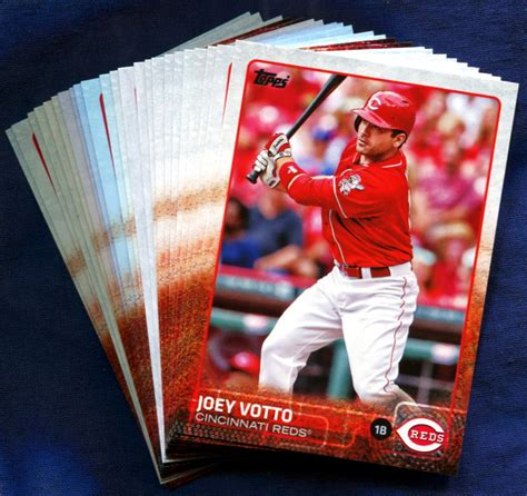 Beginning with the 2012 season, in addition to the six division champions, the two. 2015 Topps Cincinnati Reds Baseball Cards Team Set