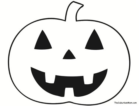pumpkin outline printable    clipartmag