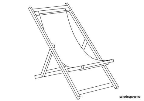 Kleurplaat Strandstoel by 11 Best Deckchair Images On Lounge Chairs