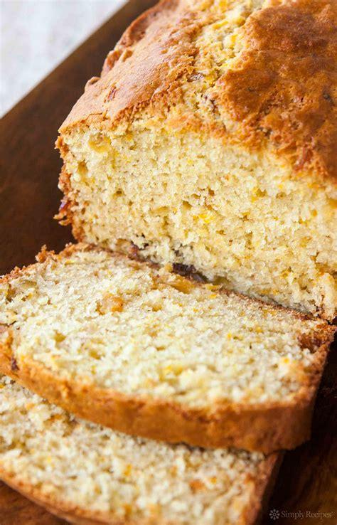 orange bread recipe simplyrecipes com