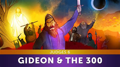 Sunday School Lesson  Gideon And The 300 Men  Judges 6