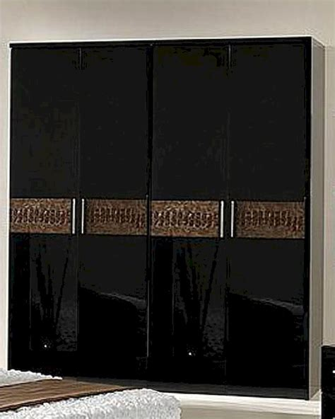 Black Brown Wardrobe Sale by Modern Wardrobe In Black Brown Finish Made In Italy 44b5118bb