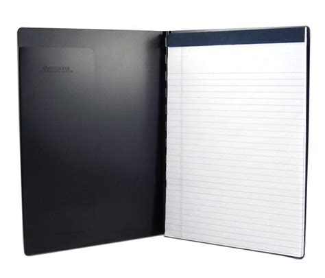 padfolio  writing pad black letter size