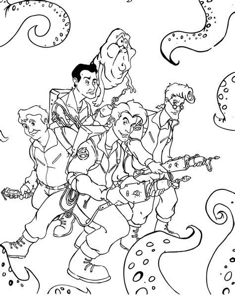 ghostbusters  peliculas paginas  colorear