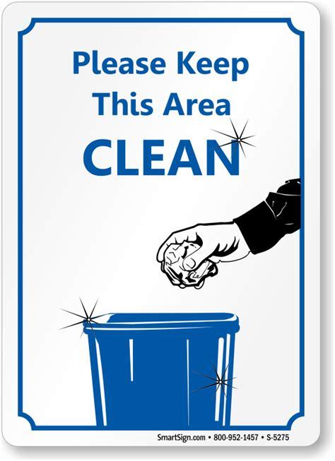 area clean sign sku