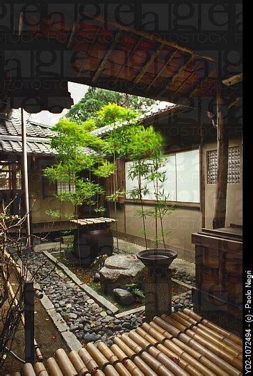 japan kyoto myoshinji temple small garden tsuboniwa
