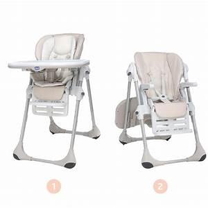 Chaise Haute 2 En 1 : chaise haute polly 2 en 1 de chicco chaises hautes r glables aubert ~ Louise-bijoux.com Idées de Décoration