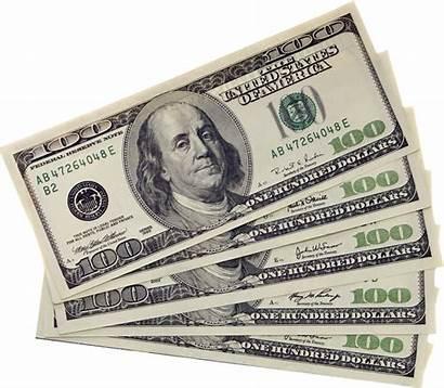 Dollar Bill Transparent Bills Hundred Money Dollars
