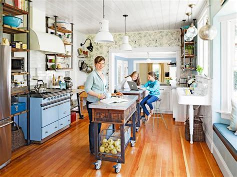 Kitchen Island Carts: Pictures & Ideas From HGTV   HGTV