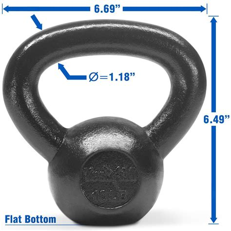 kettlebell yes4all iron cast