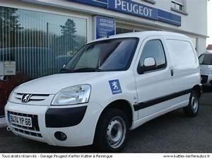 Partner Peugeot Occasion : peugeot partner 2l hdi pack cd clim 2005 occasion auto peugeot partner ~ Medecine-chirurgie-esthetiques.com Avis de Voitures