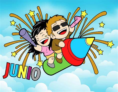Dibujo de El mes de JUNIO.. pintado por en Dibujos.net el ...