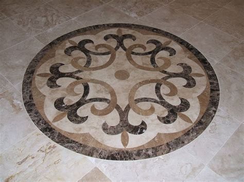entryway tile medallions 34 best images about stone glass medallions on pinterest