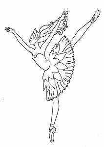 Ballett 3 Ausmalbilder Malvorlagen
