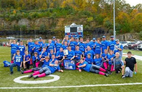 Letcher Central Middle School Football Makes History