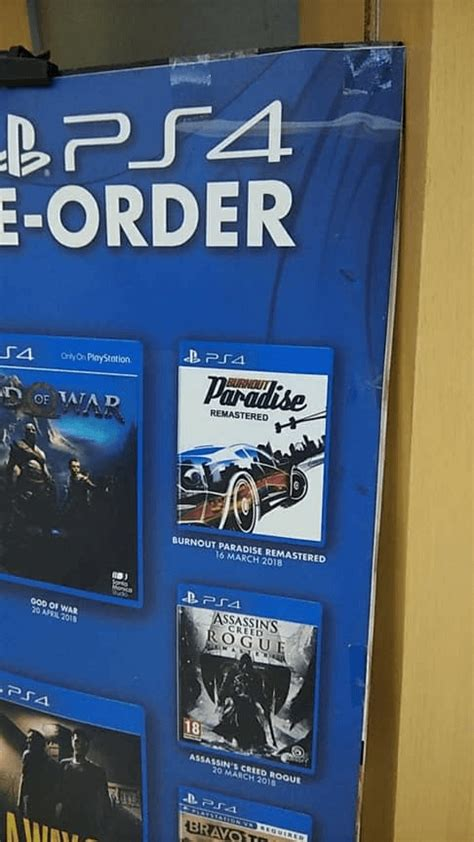 burnout paradise ps4 burnout paradise remastered ps4 pre load begins ahead of