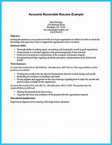 resume for nanny position awesome account receivable resume to get employer impressed