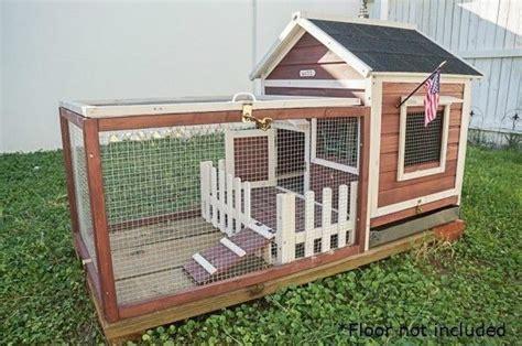 Outdoor Indoor Rabbit Cage Hutch Pet Lodge Bunny Wire