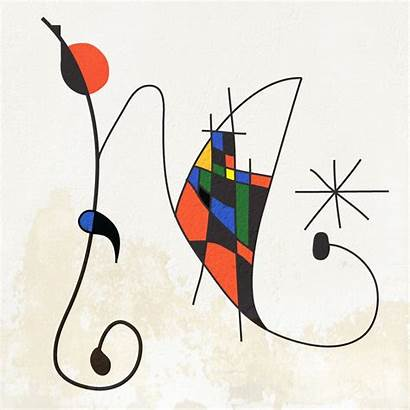 Miro Joan Illuminated Project Letter Letters Paintings