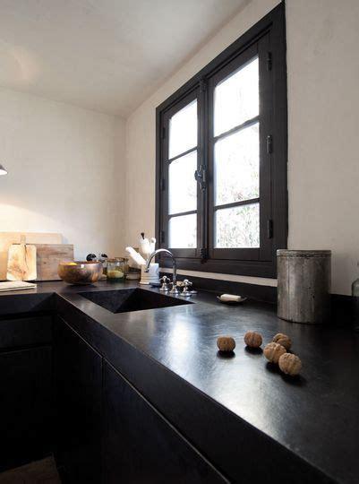 cuisine beton cire bois plan de travail cuisine en 71 photos idées inspirations