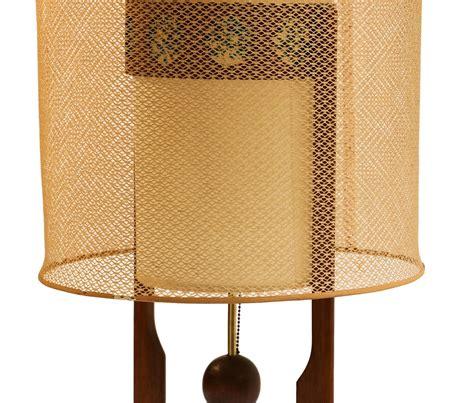mid century modern tall large table lamp