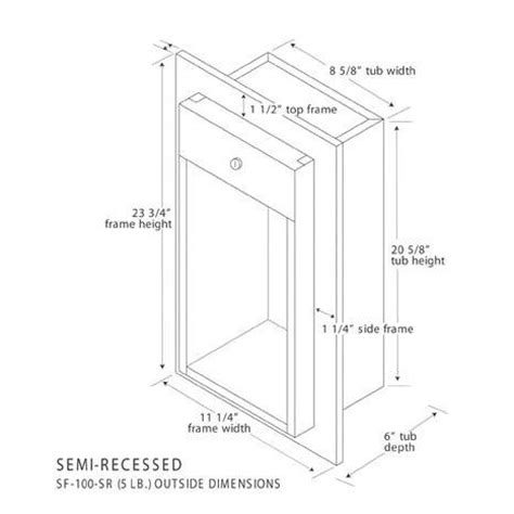 Recessed Extinguisher Cabinet Dimensions by Recessed Extinguisher Cabinets Dimensions Cabinets