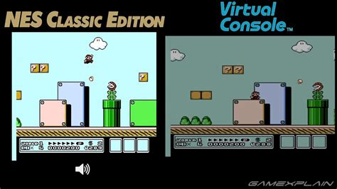 video nes classic edition  wii  virtual console