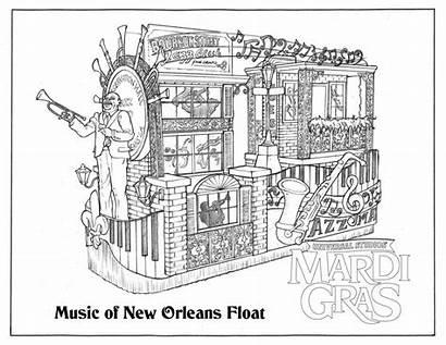 Mardi Gras Universal Orlando Orleans Coloring Books