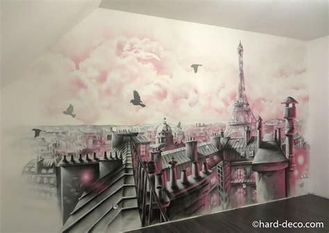 deco chambre york fille fresque murale pour chambre de fille avec toits de