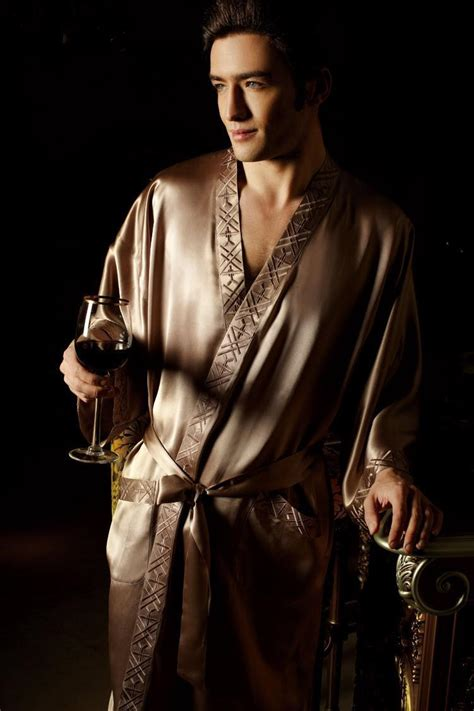 robes de chambre homme 19mm silk sleepwear kimono robe 39 s pajama