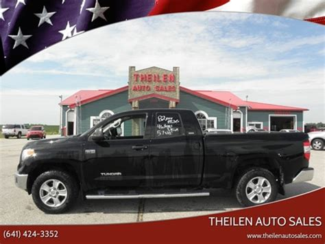 Toyota Clear Lake by Toyota Tundra For Sale In Clear Lake Ia Theilen Auto Sales