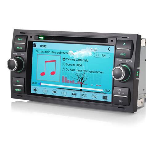 7 quot gps sat nav unit bluetooth dvd stereo for ford focus transit mk7 ebay