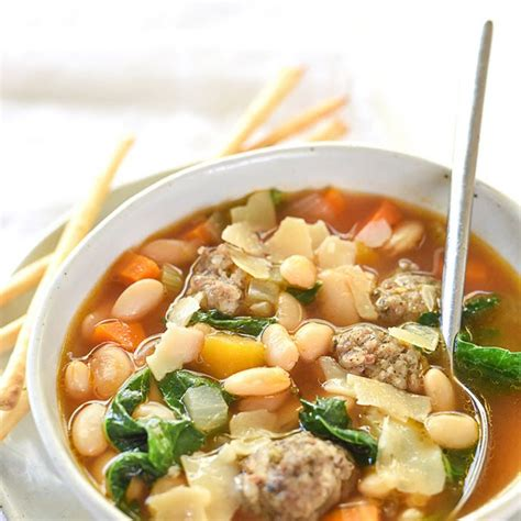 great cooker recipes slow cooker tuscan white bean and sausage soup recipe soups with great northern beans chicken