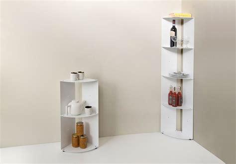 etagere cuisine metal étagère d 39 angle de cuisine dangolo en métal 25x25x70cm